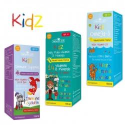 Παιδικά Συμπληρώματα Natures Aid σειρά Kidz (Πακέτο Προσφοράς)