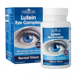 Lutein Eye Complex Normal Vision Λουτεΐνη Bilberry 30 ταμπλέτες - Natures Aid / Όραση