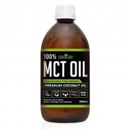 MCT Oil 100% Premium (No Palm Oil) 500ml Natures Aid - Υγιεινέ Τροφές