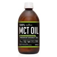 MCT Oil 100% Premium (No Palm Oil) 500ml Natures Aid - Υγιεινέ Τροφές