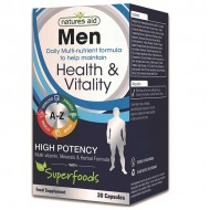 Men Multi Vitamins & Minerals 30 κάψουλες - Natures Aid / Πολυβιταμίνη για άνδρες