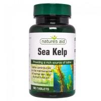 Sea Kelp (Φαιοφύκη) 150ug 180 ταμπλέτες - Natures Aid / Βοτανοθεραπεία
