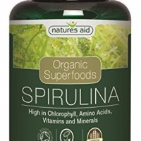 Spirulina Organic 500mg 90 κάψουλες Natures Aid / Σπιρουλίνα Οργανική