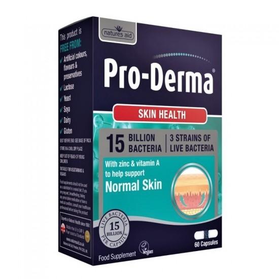 Pro-Derma 60 cps - Natures Aid / Υγιές Δέρμα