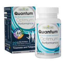 Quantum Optimum Performance Πολυβιταμίνη Nature's Aid 30 κάψουλες