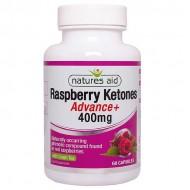 Raspberry Ketones Advance with Green Tea 400mg 60 κάψουλες - Natures Aid / Γυναικεία Προϊόντα