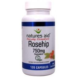Rosehip 750mg 120 κάψουλες - Natures Aid / αντιφλεγμονώδες