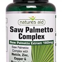 Saw Palmetto Complex with Nettle, Zinc & Amino Acids 60 ταμπλέτες - Natures Aid / Προστάτης