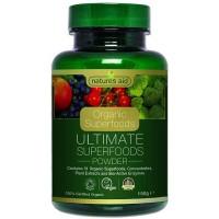 Organic Ultimate Superfoods Powder 150 γρ - Natures Aid / Υγιεινές Τροφές - Υπερτροφές