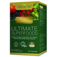 Organic Ultimate Superfoods 60 κάψουλες Natures Aid / Υπερτροφές