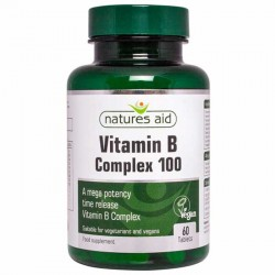 Vitamin B Complex 100 - 60 ταμπλέτες Natures Aid