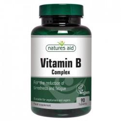 B Vitamin Complex 90 ταμπλέτες - Natures Aid / Βιταμίνες