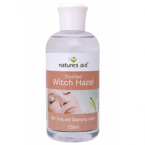 Witch Hazel λοσιόν καθαρισμού Natures Aid 150 ml