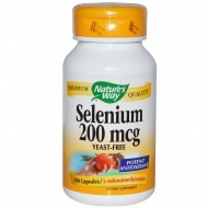 Selenium 200mcg 100 κάψουλες - Natures Way / Μέταλλα