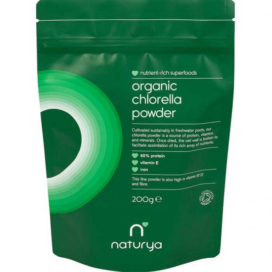 Chlorella Organic Powder 200g - Naturya