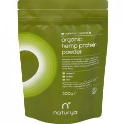 Hemp Protein Powder Organic 300g - Naturya / Σκόνη πρωτεϊνών από κάνναβη