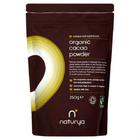 Cacao Powder  Organic 250gr - Naturya / Βιολογικό κακάο