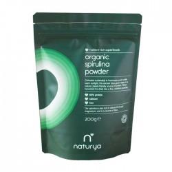 Organic Spirulina Powder 200γρ - Naturya / Οργανική Σκόνη Σπιρουλίνας
