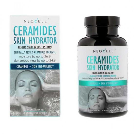 Ceramides Skin Hydrator 60 caps - Neocell / Ενυδάτωση δέρματος