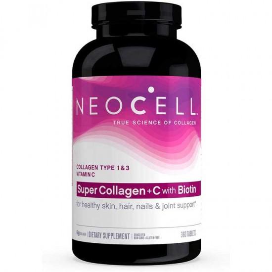 Super Collagen +C 360 tabs - Neocell / Κολλαγόνο