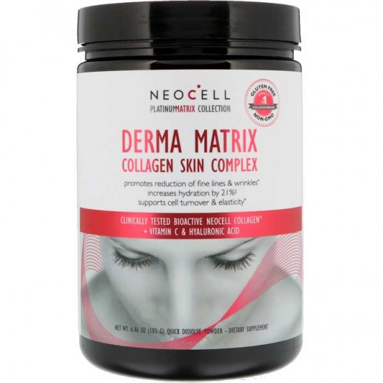 Derma Matrix Collagen Skin Complex 183g - Neocell