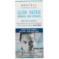 Glow Matrix, Advanced Skin Hydrator 90 caps - NeoCell / Ενυδάτωση δέρματος