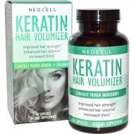 Keratin Hair Volumizer with Collagen 60 ταμπλέτες - Neocell / Γυναικεία Προϊόντα
