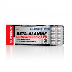 Beta Alanine Compressed 90 κάψουλες - Nutrend / Αμινοξέα - Βήτα Αλανίνη