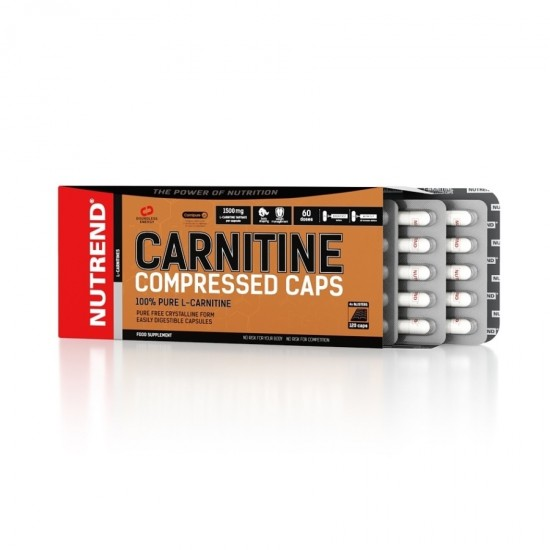 Carnitine Compressed 60 caps - Nutrend / Καρνιτίνη
