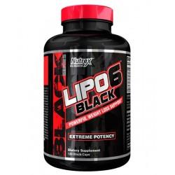 Lipo-6 Black Extreme Potency 120 κάψουλες - Nutrex / Θερμογενετικός Λιποδιαλύτης