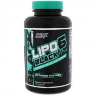 Lipo-6 Black Hers 120 κάψουλες - Nutrex / Λιποδιαλύτης για γυναίκες
