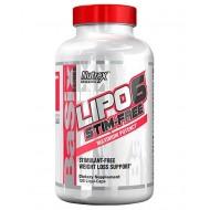 Lipo-6 Stim-Free 120 κάψουλες - Nutrex / Θερμογενετικός Λιποδιαλύτης