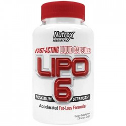 Lipo-6 Maximum Strength 120 Liquid caps - Nutrex