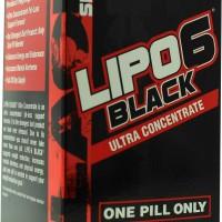 Lipo-6 Black Ultra Concentrate 60 κάψουλες - Nutrex / Θερμογενετικός Λιποδιαλύτης