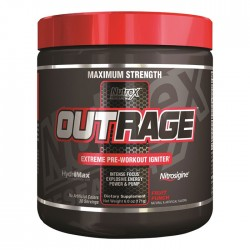 Outrage 144 g - Nutrex / Pre-Workout (Προεξασκητικό)