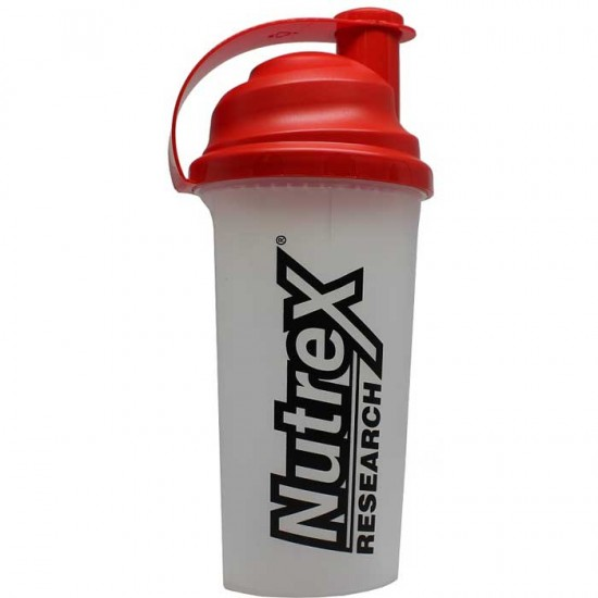 Shaker Cup - Clear with Red Lid 700 ml - Nutrex