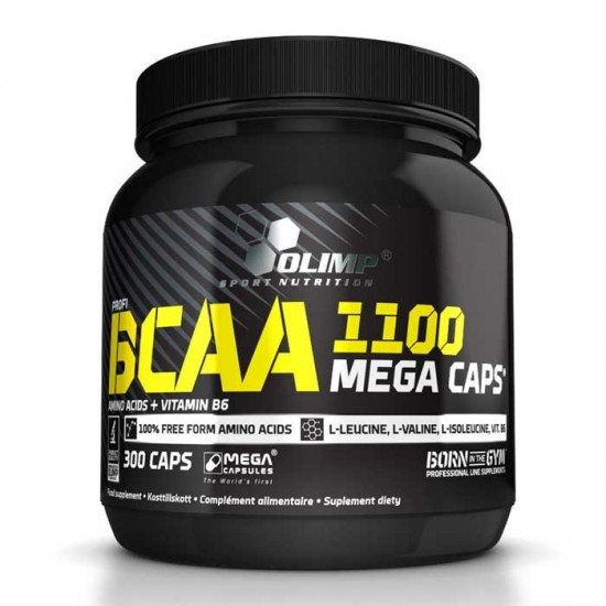 Bcaa Mega Caps 1100 300 κάψουλες - Olimp