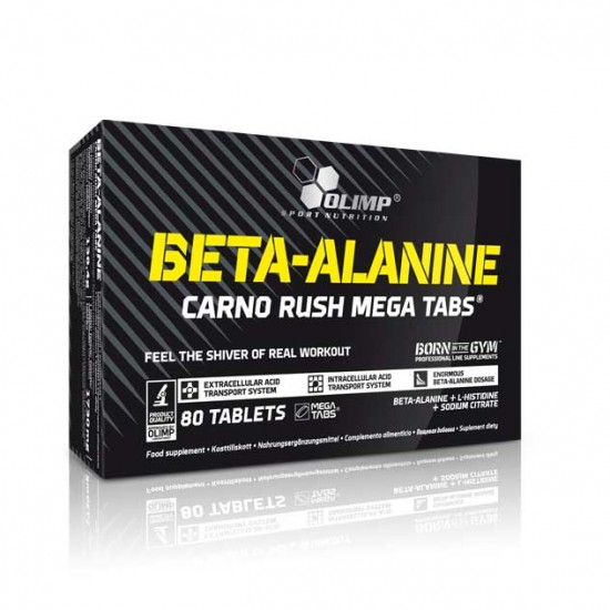Beta Alanine CARNO RUSH™ Olimp 80 tabs / Αμινοξέα