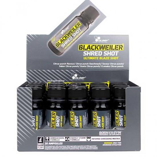 Blackweiler Shred Shot 20x60ml - Olimp