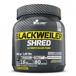 BlackWeiler Shred 480gr - Olimp