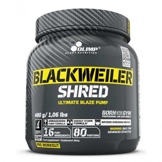 BlackWeiler Shred 480gr - Olimp