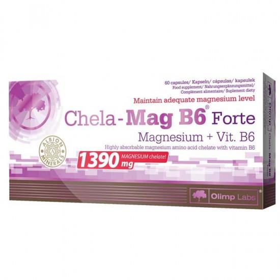 Chela Mag B6 Forte 60 caps - Olimp / Μαγνήσιο