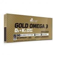 Gold Omega 3 D3 K2 Sport Edition 60 κάψουλες - Olimp / Βιταμίνες