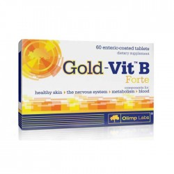 Gold Vit B Forte 60caps - Olimp