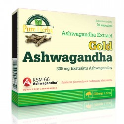 Gold Ashwagandha 30 caps - Olimp
