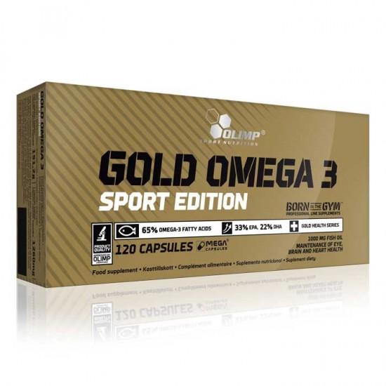 Gold Omega 3 Sport Edition Olimp 120 κάψουλες / Ωμέγα 3 λιπαρά