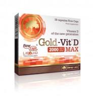 Gold Vit D Max 2000 30caps - Olimp