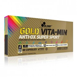 Gold Vita-min AntiOx Super Sport 60caps - Olimp  / Βιταμίνες και Μέταλλα
