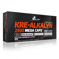 Kre-Alkalyn 2500 Mega Caps Olimp 120 κάψουλες / Κρεατίνη