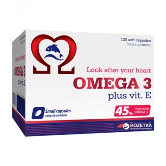 Omega 3 plus Vitamin E 120 caps - Olimp